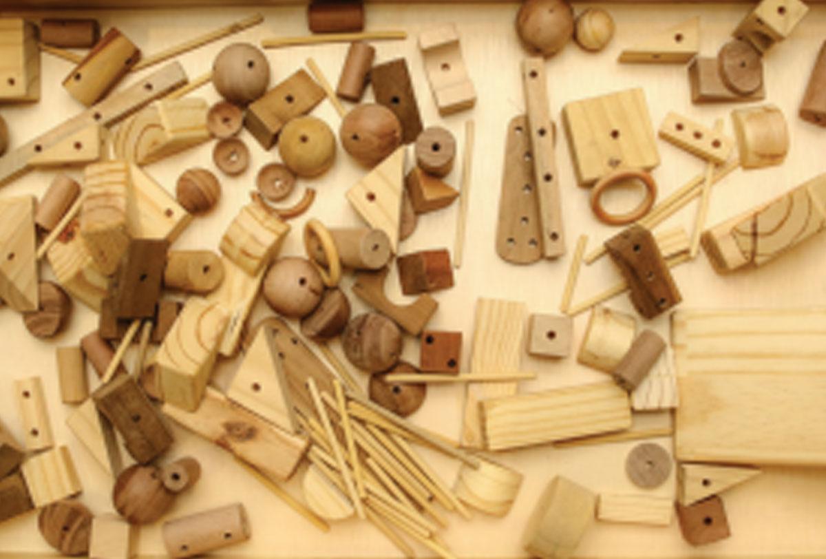 Blocos criativos - 80 peças