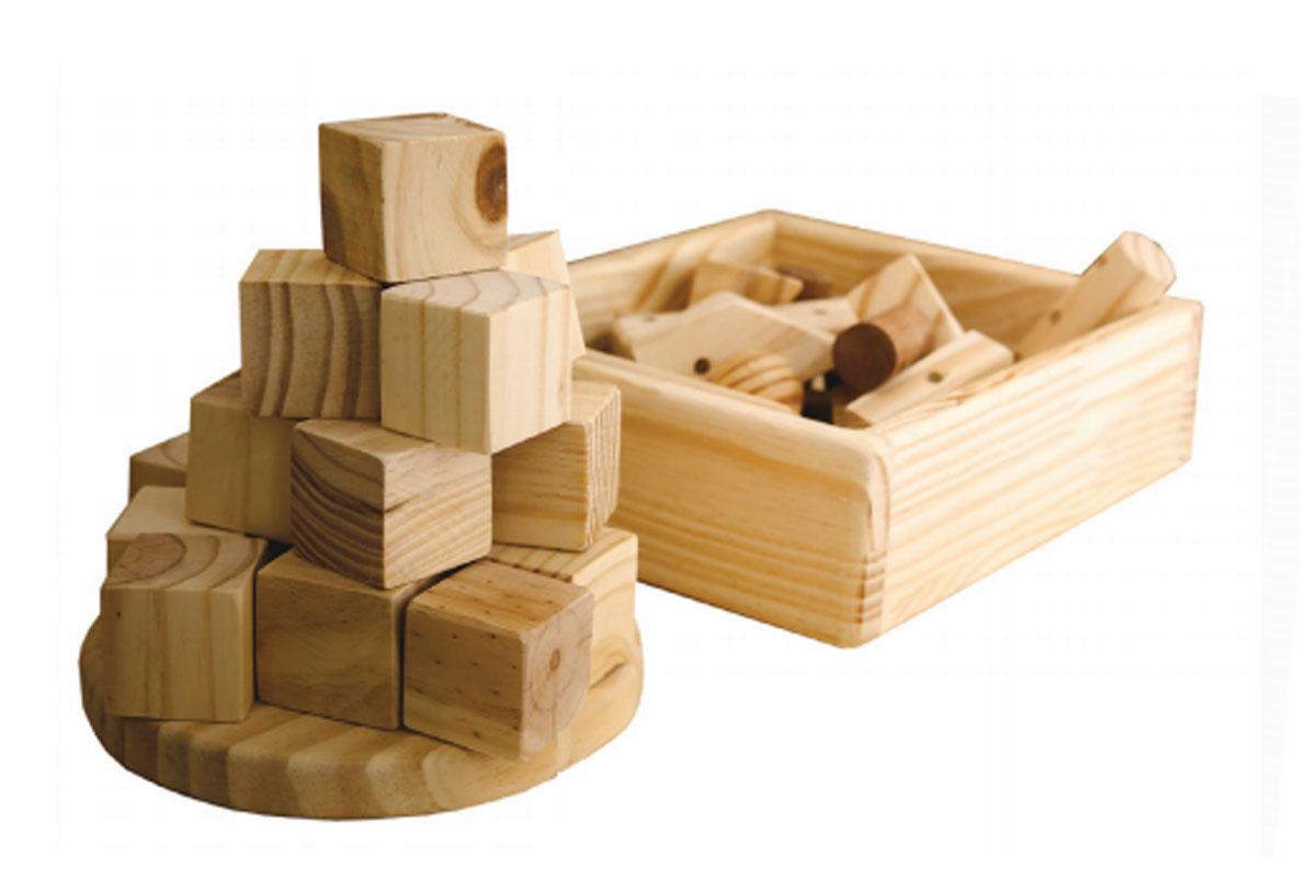 Cubos Waldorf In Natura 56 e 32 peças